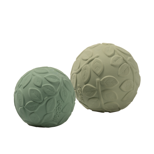 Natruba Natruba | Sensory ball set | Speel ballen Leaf Green