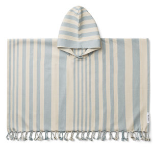 Liewood Liewood | Roomie Poncho | Sea Blue