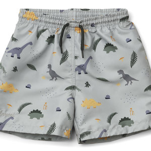Liewood Liewood | Duke board shorts | Zwembroek Dino dove blue mix