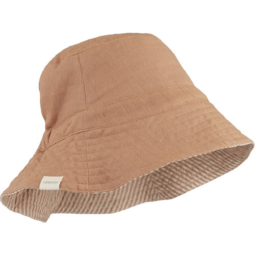 Liewood Liewood | Buddy bucket hat | Tuscany Rose zonnehoedje