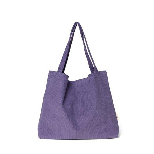 Studio Noos Studio Noos   Purple Rain rib  mom-bag