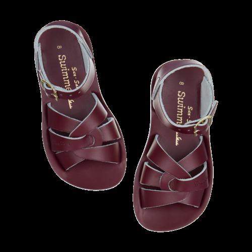 Salt-Water Salt-Water Sandals | Swimmer Child Claret