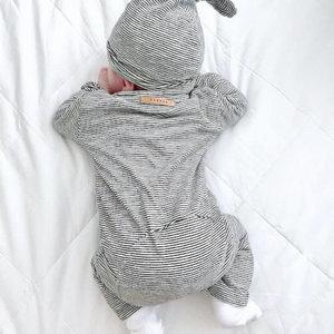 Nixnut Nixnut | Butt onesie | Stripe boxpakje