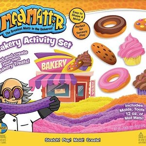 Overig MadMattr | Bakery speelset met kinetic sand