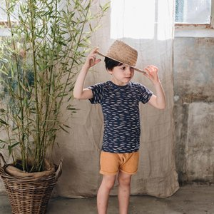 Blossom Kids Blossom Kids | T-shirt Zig Zag | Royal Blue