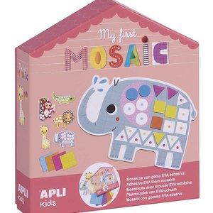 Overig Apli | Mijn eerste mozaiek foam | 5 XL kaarten