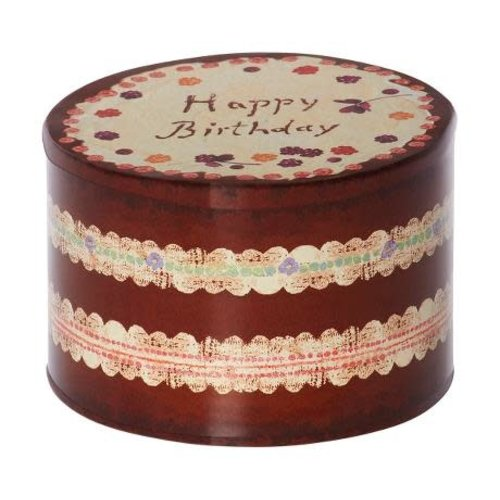 Maileg Maileg | Birthday Cake Box | Verjaardag doosje