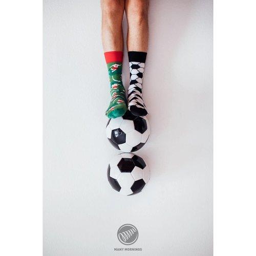 Overig Many Mornings | Sokken Football Fan