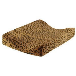 Daily Brat Daily Brat | Leopard verschoonkussenhoes | Sandstone