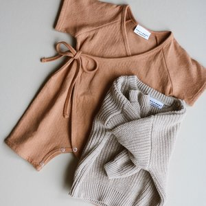 Daily Brat Daily Brat | Ajour kimono | Boxpakje soft clay
