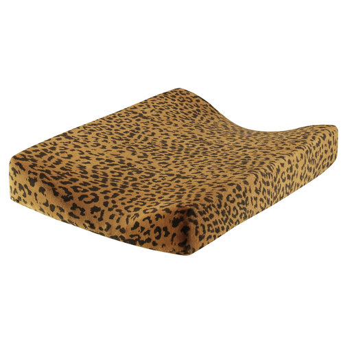 Daily Brat Daily Brat   Leopard verschoonkussenhoes   Sandstone
