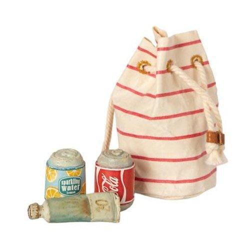 Maileg Maileg | Bag with beach essentials | Strandtas