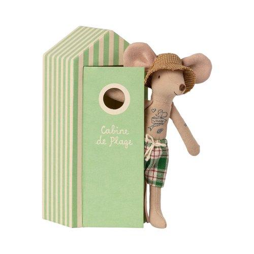 Maileg Maileg | Dad beach mouse | Papa muis in strandhuisje