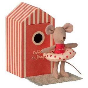 Maileg Maileg | Little sister beach mouse | Kleine zus in strandhuisje