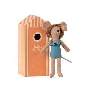 Maileg Maileg | Mum beach mouse | Mama muis in strandhuisje