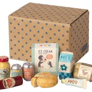 Maileg Maileg   Miniature grocery box   Mini boodschappen set