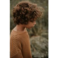 Yuki   Chunky knit Sweater   Gold