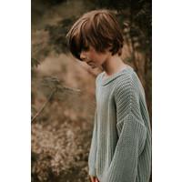 Yuki   Chunky knit Sweater   Ocean