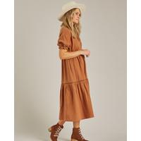 Rylee & Cru | Mandi dress | Dames jurk rust