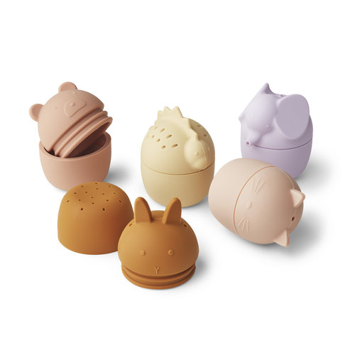 Liewood Liewood | Gabby bath toys | Badspeeltjes 5-pack