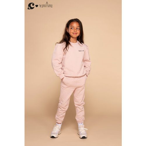 &C x REVIVE &C x Revive | Kids sweater GIRL | Roze | Take it slow