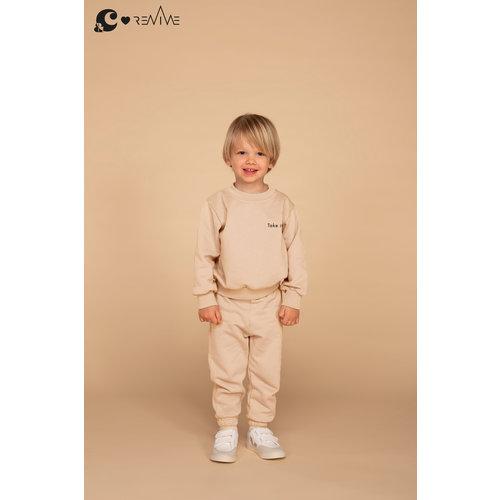 &C x REVIVE &C x Revive | Kids sweater BOY | Beige | Take it easy