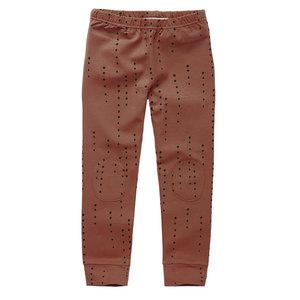 Mingo kids Mingo | Legging dewdrops | Burnished Leather