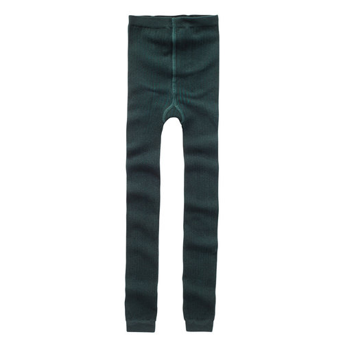 Mingo kids Mingo | Sockless tights Dark Emerald