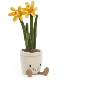 Jellycat Jellycat | Amuseable Daffodil  |  Gele narcis 26cm