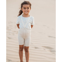 Silly Silas | Shorty maillot met bretels | Cream