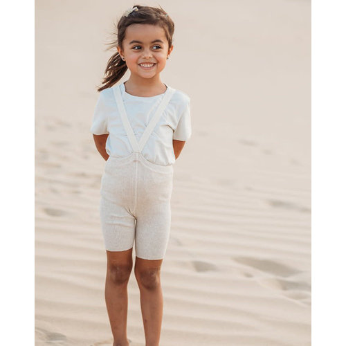 Silly Silas Silly Silas | Shorty maillot met bretels | Cream