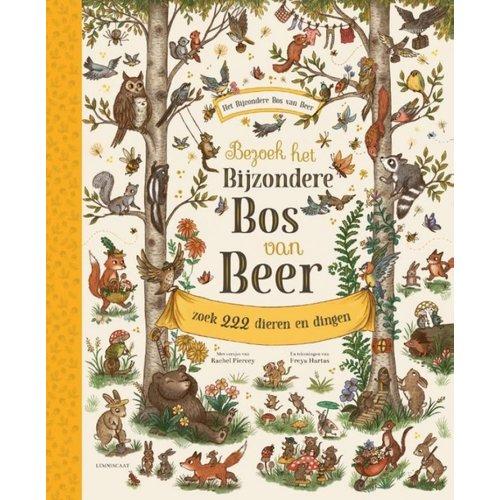 Boeken Bezoek het Bijzondere Bos van Beer | Prentenboek / zoekboek