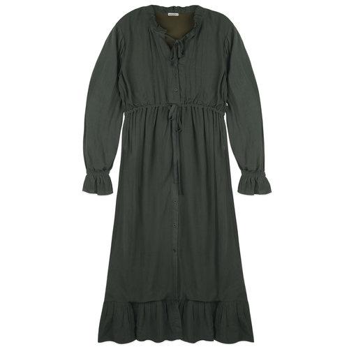 Ammehoela Ammehoela | Hazel.Mom.01 | Mama jurk Thyme groen