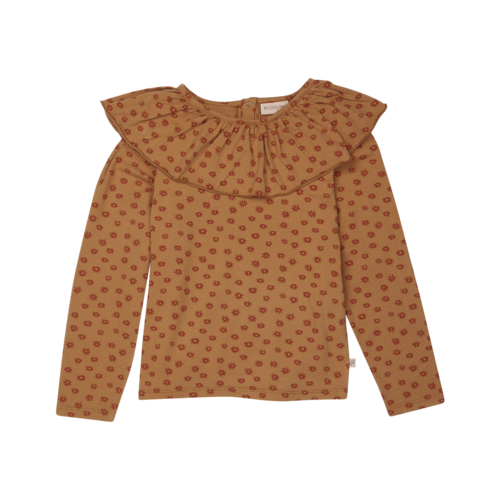 Blossom Kids Blossom Kids | Longsleeve shirt volant collar | Winter Flower