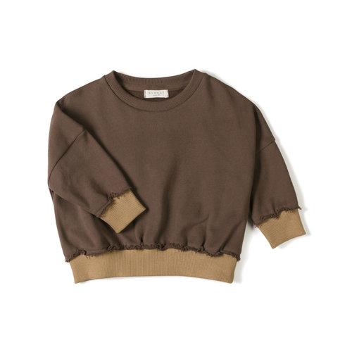 Nixnut Nixnut | Loose sweater Choco