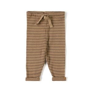 Nixnut Nixnut | Rib legging | Stripe Choco