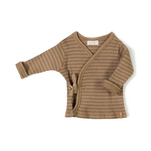 Nixnut Nixnut | Rib vest | Stripe Choco