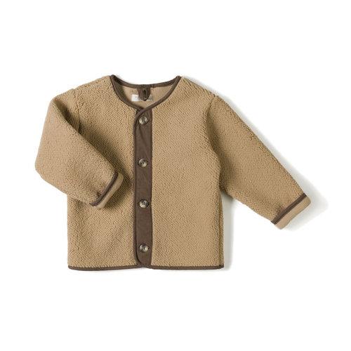 Nixnut Nixnut | Teddy vest Camel