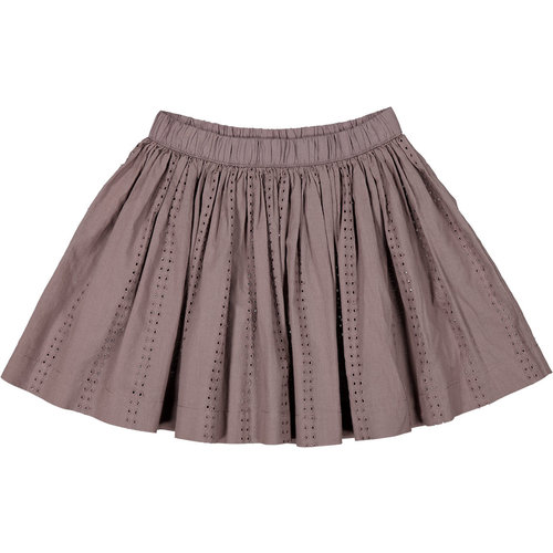 MarMar MarMar | Sana Skirt | Rokje broderie Plum