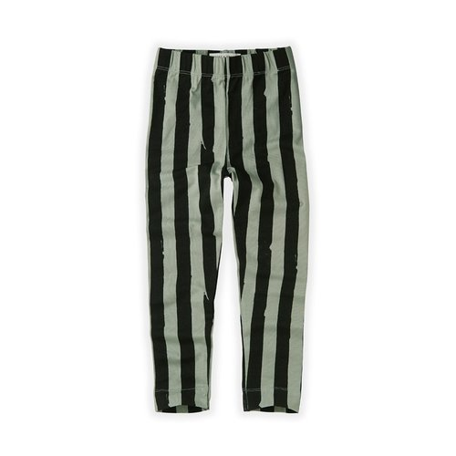 Sproet & Sprout Sproet & Sprout | Legging Painted Stripe | Eucalyptus