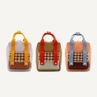 Sticky Lemon | Small Backpack Gingham | Rugtas