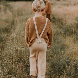 Yuki Kidswear Yuki | Chunky knitted Trousers | Oath