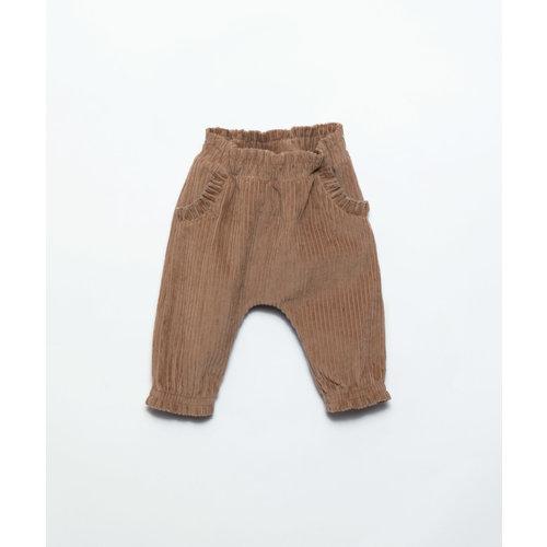 Play Up Play Up | Corduroy Trousers | Broekje Paper brown