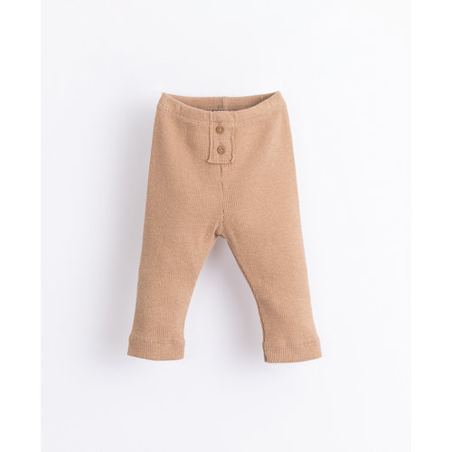 Play Up Play Up | Rib baby Legging | Paper brown