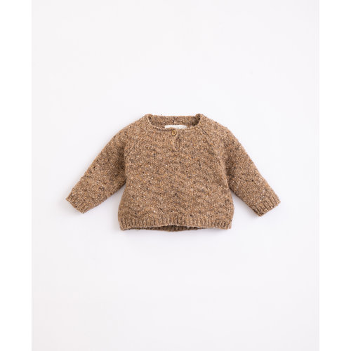 Play Up Play Up | Tricot Knit  Sweater | Paper brown