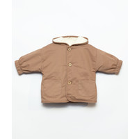 Play Up | Twill Parka | Baby jas Paper brown