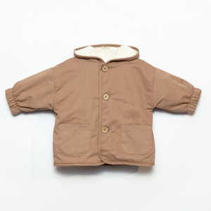 Play Up Play Up | Twill Parka | Baby jas Paper brown