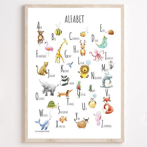 Overig Juulz | ABC poster | Alfabet 30x40