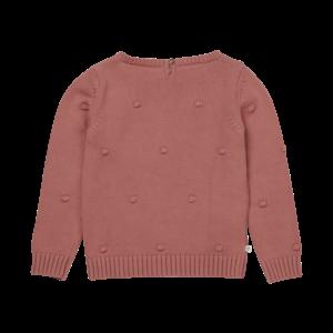 Blossom Kids Blossom Kids | Knitted jumper | Trui Dots rose