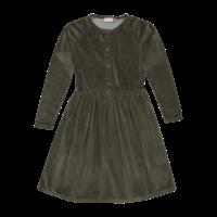 Blossom Kids | Velvet dress | Jurk sage